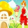 Игра Одевалка: Рядом с домиком-грибом