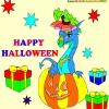 Игра Раскраска: Хеллоуин 6