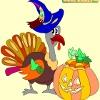 Игра Раскраска: Хеллоуин 7