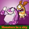 Игра Поиск отличий: Монстры в городе