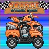 Игра Оранжевый мотоцикл