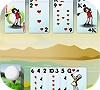 Игра Пасьянс: Гольф