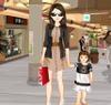 Игра Одевалка: Мама и ребенок