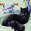 Игра Пятнашки: Кот в раковине