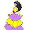 Игра Раскраска: Джульетта на балу