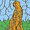 Игра Раскраска: Леопард