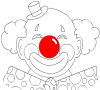 Игра Раскраска: Клоун