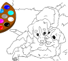 Game Paint me: dogs