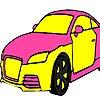 Игра Раскраска: Автомобиль