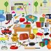 Игра Поиск предметов: Бардак в комнате