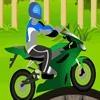 Игра На мотоцикле по горам