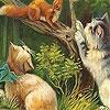 Игра Пятнашки: Котик на дереве