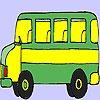 Игра Раскраска: Ретро автобус