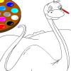 Игра Раскраска: Динозавр