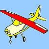 Игра Раскраска: Самолёт