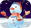 Игра Одевалка: Снеговик
