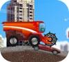 Игра Трактор в городе