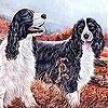 Игра Пятнашки: Собаки в саду