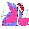 Игра Раскраска: Цветочная фея