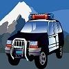 Игра Пазл: Полицейская машина