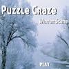 Игра Пятнашки: Зимний пейзаж