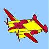 Игра Раскраска: Самолет 2