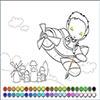 Игра Раскраска: Маленький пилот