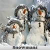 Игра Поиск предметов: Снеговики