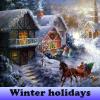 Игра Поиск предметов: Зимние каникулы