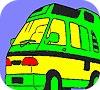 Игра Раскраска: Микроавтобус