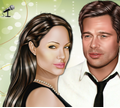Игра Анджелина Джоли и Бред Питт