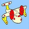 Игра Раскраска: Мини-самолет