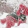 Игра Пятнашки: Розовая собачка