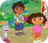 Game Dora Explorer Find the Alphabets