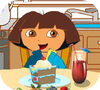 Game Dora Explorer Dining Table Decor
