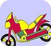 Игра Раскраска: Мотоцикл