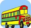 Игра Раскраска: Большой автобус
