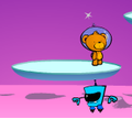 Игра Мишка космонавт
