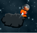 Игра Нэнни в космосе