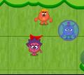 Игра Смешарики играют в догонялки