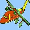 Игра Раскраска: Быстрый самолет