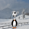 Игра Чеканка с пингвином