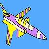 Игра Раскраска: Самолет