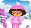 Игра Даша на горнолыжном курорте