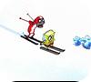 Игра Губка Боб убегает от лавины
