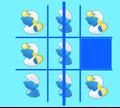 Игра Крестики-нолики со Смурфиками