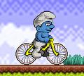 Игра Велопрогулка Смурфиков