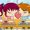 Игра Поцелуй в кафе