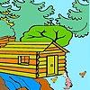 Игра Раскраска: Ферма в лесу