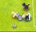 Игра Футбол с питомцами